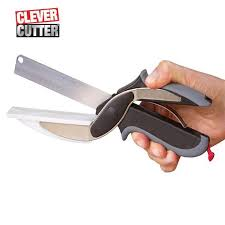 stainless steel kitchen knives clever cutter 2 in 1 kitchen knife cutting board scissors