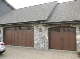 Garage Door Curb Appeal - garage doors our faux wood carriage house stylee doors curb
