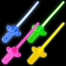 glow sticks bulk play glow stick swords 10 in at dollartree