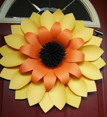 sunflower wreath front door wreaths sunflower wreath autumn wreaths sunflower