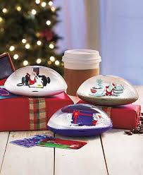 gift card snow globe snow globe gift card holders the lakeside collection
