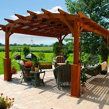 Pergola With Shade by Arched Hearthside Pergolas Country Lane Gazebos
