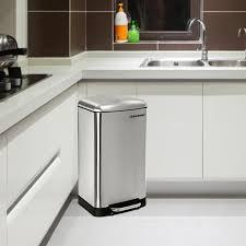 poubelle cuisine design pas cher poubelle inox 30l achat vente poubelle inox 30l pas cher
