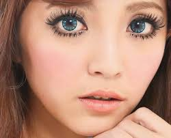 66 eyes style images color contacts barbie