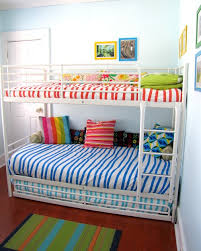 Bunk Bed Trundle Ikea Ikea Tromso Bunk Beds Small Profile And With Trundle For