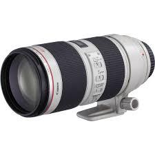 Ii Canon Ef 70 200mm F 2 8l Is Ii Usm Telephoto Zoom Lens 2751b002