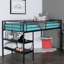 metal loft beds with desks study metal loft beds for teens