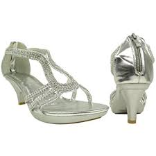amazon com womens dress sandals embellished drop strap low heel