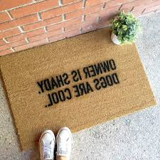 Novelty Doormats 1000 Ideas About Christmas Doormat On Pinterest Personalized