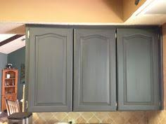 Using Chalk Paint For Oak Kitchen Cabinets Test Door Oak - Elegant painting kitchen cabinets chalk paint house