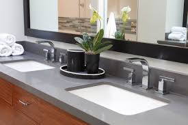 Bathroom Countertop Trends Quartz - Quartz bathroom countertops with sinks