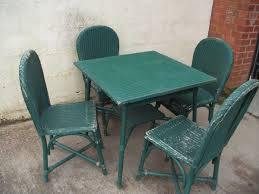 Lloyd Loom Bistro Chair Secondhand Chairs And Tables Lloyd Loom