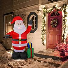 8 foot portable santa claus indoor