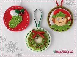 3521 best felt ideas images on pinterest christmas ornaments