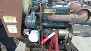 kubota 25 hp liquid cooled engine youtube