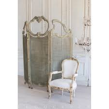 french country style vintage dressing room screen divider 1940