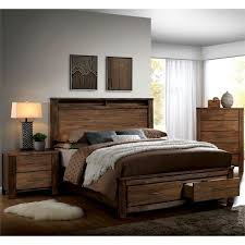 three piece bedroom set furniture of america nangetti rustic 3 piece queen bedroom set in