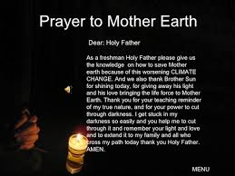 earth prayers for the great spirit