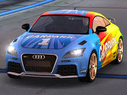 audi tt colors trackmania carpark 2d skins audi tt rs carpark colors
