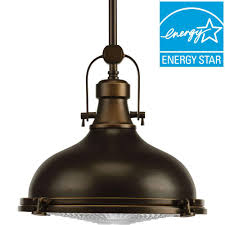 Kitchen Lighting Collections by Progress Lighting Fresnel Lens Collection 1 Light Oil Rubbed