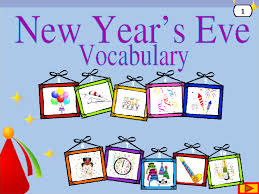 New Year Decoration Vocabulary by 67 Free New Year Worksheets