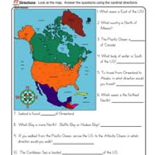 cardinal directions worksheet free worksheets library download