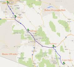 Jerome Arizona Map by Riding Maps Foothills H O G Chandler Arizona