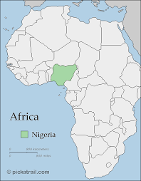 map of nigeria africa nigeria the collective black movement cbpm