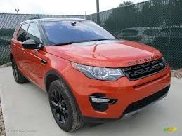 land rover discovery sport 2017 red 2017 phoenix orange land rover discovery sport hse 115535704