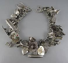 vintage silver bracelet charms images Because vintage sterling silver charm bracelets tell stories jpg