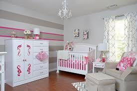 chambre fille idee deco chambre bebe fille gris et idées de décoration