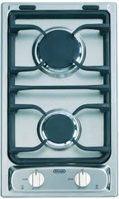 Sealed Burner Gas Cooktop Delonghi Degct212fx Gas Cooktop With 2 Sealed Burners Electronic