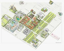 San Diego State University Map by Katherine Baxter Illustrated Maps Illustrated Maps Of New York