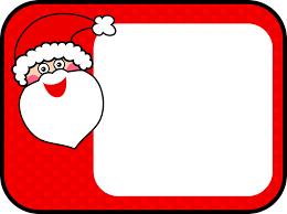 free vector graphic santa christmas sign border free image