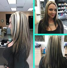 blonde hair with chunky highlights blonde chunky highlights short hair lustyfashion