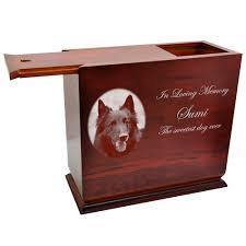 dog urns wholesale large dog urns cherry wood slide top urn