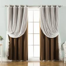 Matching Shower Curtain And Window Curtain Buy Brown Blackout Curtains From Bed Bath U0026 Beyond