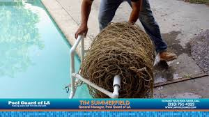 how to use a pool safety net youtube