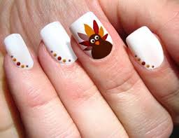 Thanksgiving Day Nail Easy Thanksgiving Nails Designs Ideas 2017 With Stickers