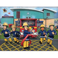 walltastic fireman sam wallpaper mural design2please