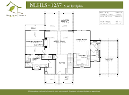 floorplans new leaf homes