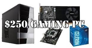 best prebuilt gaming pc black friday deals build the best gaming pc for 250 in 2017
