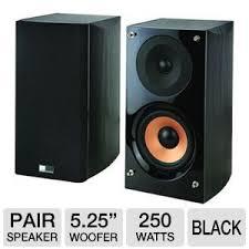 acoustics supernova s bookshelf speakers 2 way 250 watts