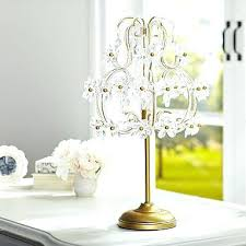 Small Black Chandelier Table Lamp Chandelier Table Lamp Shades Lights Style Crystal