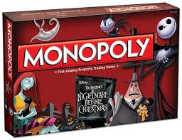 monopoly the nightmare before collector s