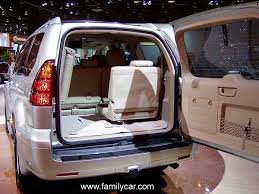 lexus gx470 cargo space review and comparison 2011 mercedes gl450 vs 2011 infiniti