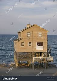 Nags Head Beach House House Nags Head On Outer Banks Stock Photo 60134728 Shutterstock