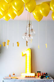 Decoration Birthday Party Home Best 25 Simple Birthday Decorations Ideas On Pinterest Hanging