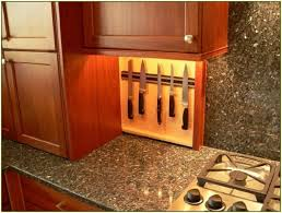 Under Cabinet Shelf Kitchen by Under Cabinet Knife Storage Bar Cabinet