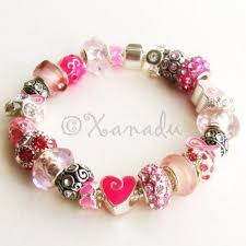 european style bracelet beads images Pink warrior breast cancer awareness european charm bracelet jpg